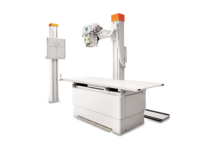Amadeo R - Universal X-ray system with bucky table and wall stand
