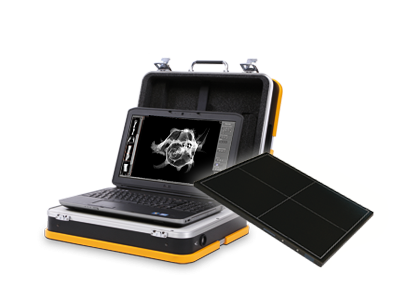 ZfP | NDT: Wireless radiography with the incredibly light and compact X-ray suitcase system