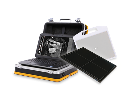 Leonardo mini - Security IOD/EOD: Wireless radiography with the incredibly light and compact X-ray suitcase system