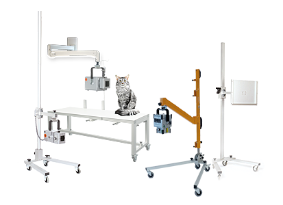 Trolley stands and cassette holder for digital X-ray