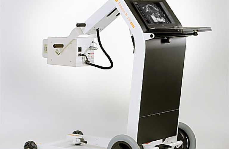 Digital X-ray machine for security and digital radiography