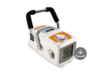 Amadeo P-90/20VB - portable battery-operated monoblock X-ray unit with high frequency technology