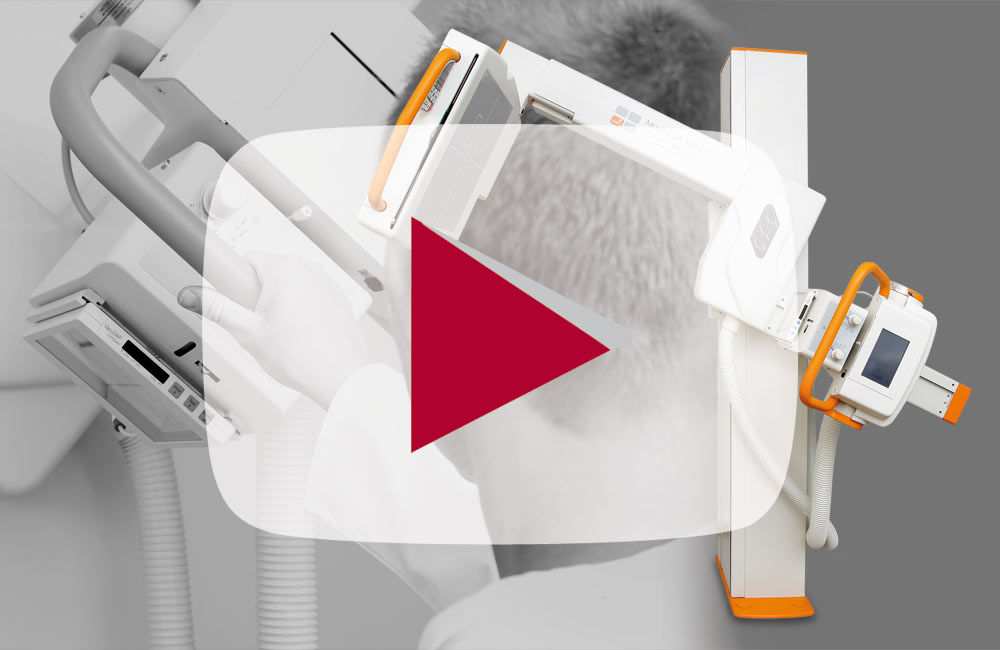 Product video: Digital X-ray with fully motorised U-arm system