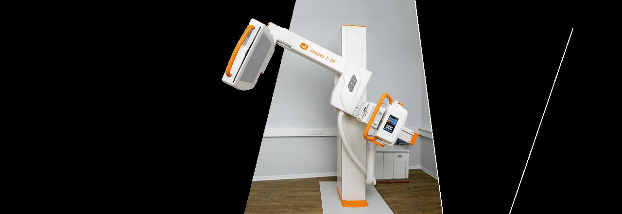 Digital X-ray - Fully motorised U-arm system - low ceiling heights