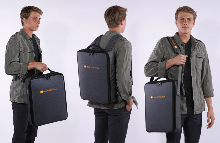 Comfortable, sturdy X-ray bag - also suitable  as shoulder bag or backpack