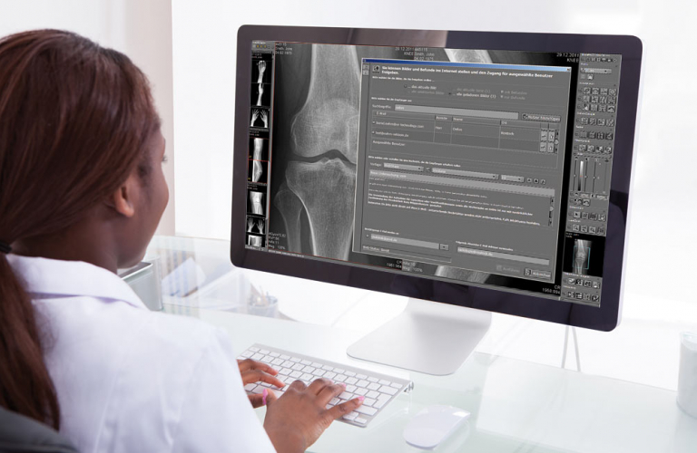 Archiving medical images in the DICOM cloud directly from the PACS