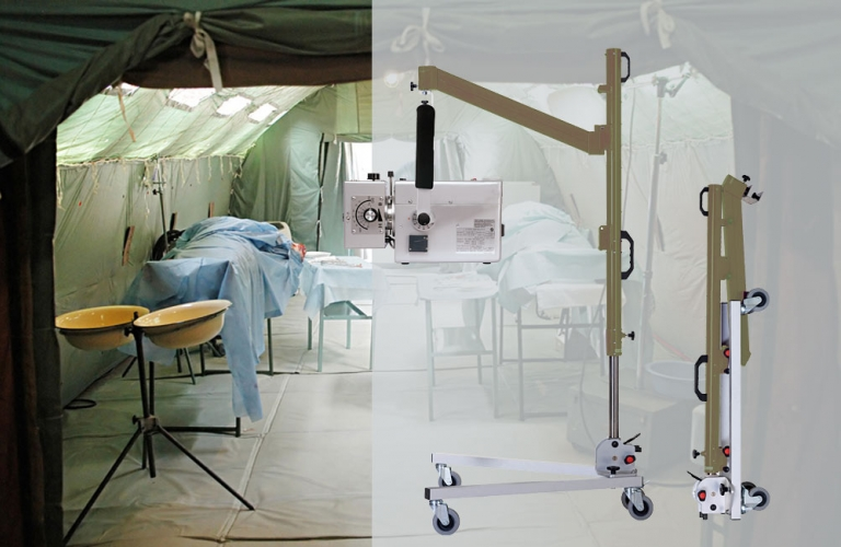 Stative-Trolley-stands-cassette-holder-wall-brackets-Military-Medical-Services-2