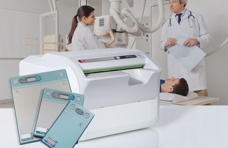 Digital X-ray imaging, image management (PACS) and cloud solutions for human medicine